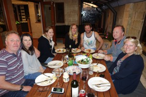 With Tim, Deb, Charlotte, Megan, Ben & Mark