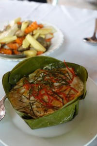 Fish Amok - Khmer Traditional Food