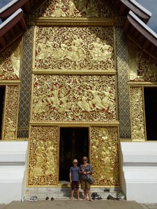 Temple doors.
