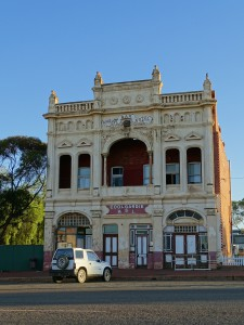The old mining towns have beautiful civic buildings