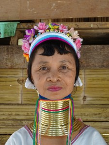 Long-neck Karen tribe.