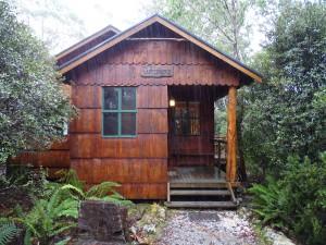 Log cabin in Tasmania